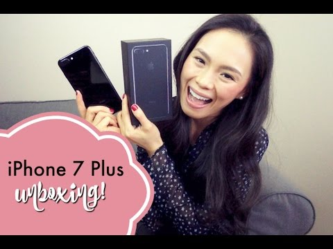 iPhone 7 Plus Unboxing | Apple iPhone 7 Plus Jet Black | iPhone 6s Plus vs iPhone 7 Plus
