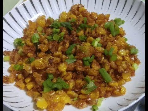 Masala Crispy Corn | How to make Fried Crispy Corn | Crispy Corn Process with simple steps at home.