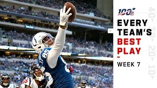 Every Team39s Best Play Of Week 7 NFL Highlights