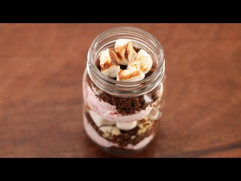 Brownie Dessert Jar | Cooking with California Walnuts | Sanjeev Kapoor Khazana