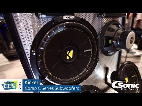 Kicker Comp C Series Subwoofers   CES 2017