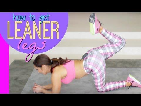 Get Leaner Legs Workout | Natalie Jill