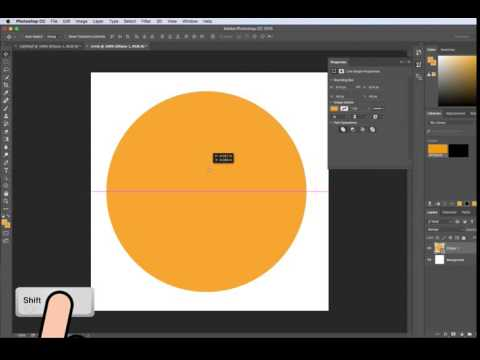 How To Make A Perfect Circle In Photoshop CC, CS5/CS6 (EASY TUTORIAL)