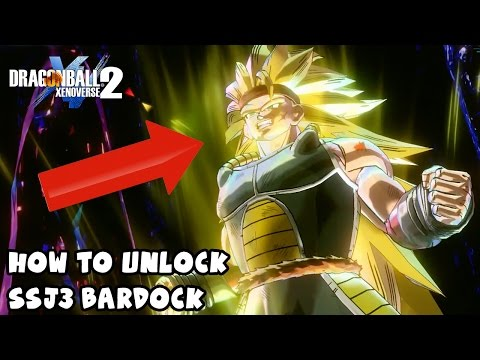 How To Unlock Super Saiyan 3 Bardock & His Secret Story Mission | Dragon Ball Xenoverse 2
