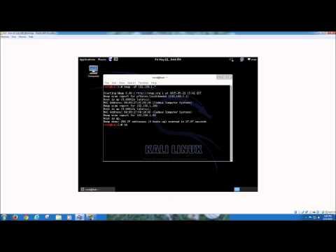 Basic Nmap tutorial