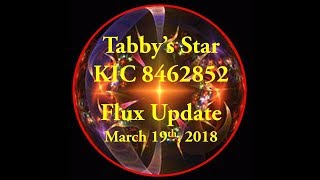 Tabby's Star KIC 8462852 Flux Update for March 19, 2018