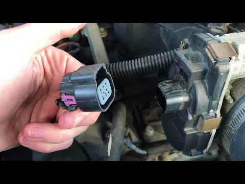 Replace Throttle Position Sensor Tahoe, Silverado, and Suburban