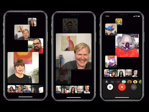 Apple adds ability to FaceTime with 32 people