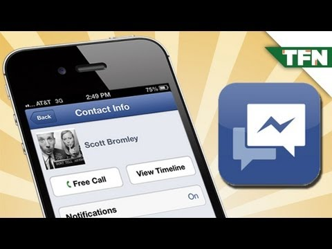 Free Calling with Facebook Messenger App