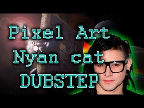 Nyan Cat Dubstep || Minecraft Pixel Art || Minecraft Xbox 360 Edition