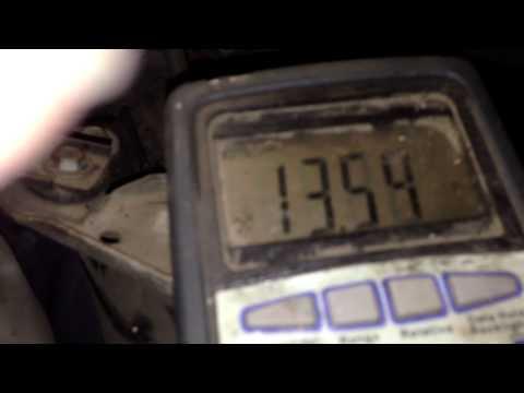 Alternator not charging diagnosis How to Fix it Pontiac Montana