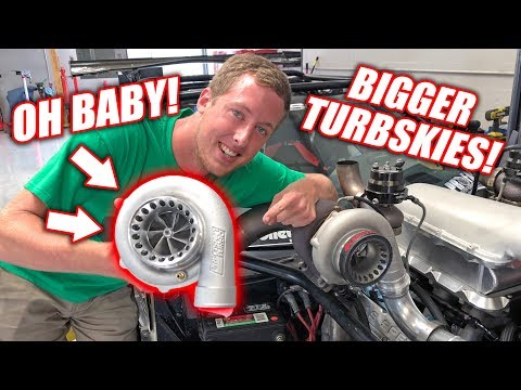 Leroy Gets NEW Bigger Badder Turbos!! **Boosted Freedom Alert**