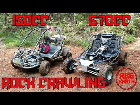 670cc Off Road Go Kart Trail Riding & Rock Crawling