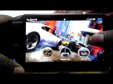 Playstation Vita OS and custom wallpaper