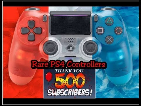 RARE PS4 Dualshock 4 Controllers | NES Classic Re-release Controllers | Thank You 500 Subscribers!!!