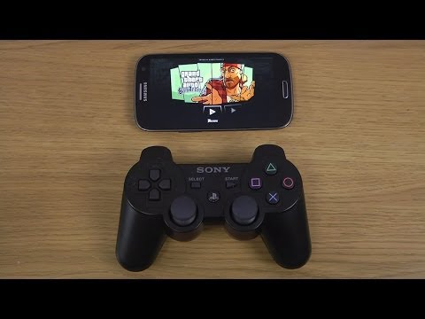 Grand Theft Auto: San Andreas Samsung Galaxy S3 PlayStation 3 Controller Gameplay Test