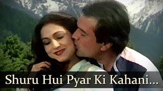 Shuru Hui Pyar Ki Kahani - Rajesh Khanna - Tina Munim - Adhikar - Bollywood Songs - Bappi Lahiri