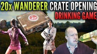 Battlegrounds Wanderer Crate Opening Drinking Game (pubg)