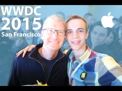 WWDC 2015 Student Scholarship Orientation, Keynote Line, & Tim Cook Meet Up