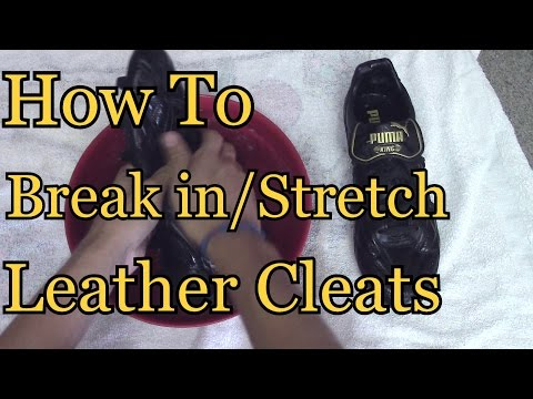 How To Break In Leather Cleats