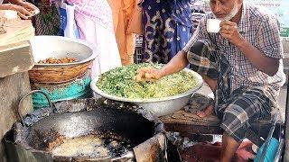 Tow Old Man Famous By Selling tasty Food vegetable Piyaju  Sabzi pakora Yummy Jalebi Street Food