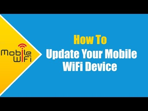 How To Update Mobile WiFi Device