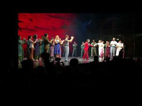 Miss Saigon NYC Broadway closing night curtain call