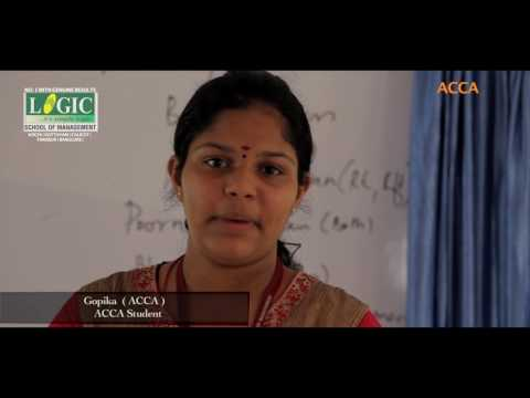Gopika (ACCA Student) speaks about Logic