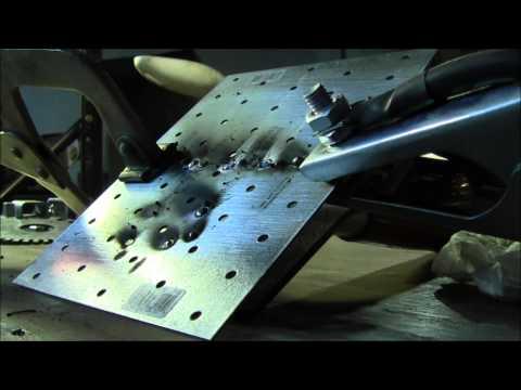 Mig welding practice with Eastwood 135 part 2