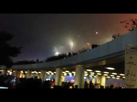 Fireworks AT Tsim Sha Tsui Star Ferry Hongkong Chinese New Year(29/1/2017)