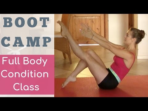 BootCamp Workout:  Full Body Conditioning (Core, Butt, Back)