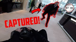 RIDING A CRAZY KART IN A MALL!