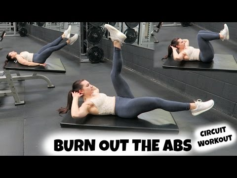 NO Equipment Needed ABS Circuit | Full Workout