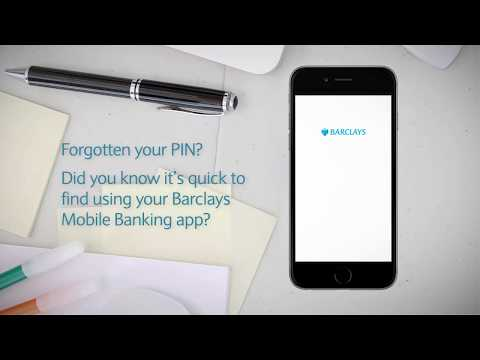 How to get a PIN reminder | Barclays Mobile Banking app