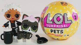 New LOL Surprise! Pets | Series 3 LOL Surprise Dolls Pets | Big & Lil