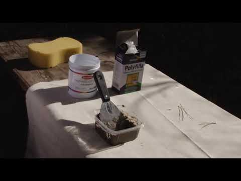 Filling LARGER Cracks in walls