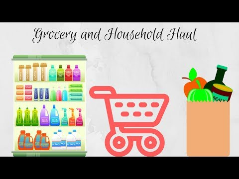 Sam's Club Grocery and Household Haul Second Week of June 2018