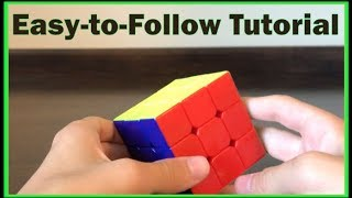 How To Solve The 3x3 Rubik S Cube Beginner S Method Hd