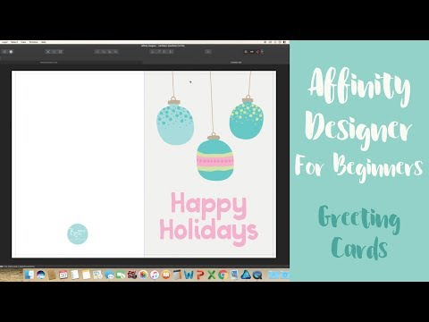How To Create A Greeting Card In Affinity Designer | Creating A Bleed In Affinity Designer