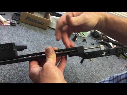 Adjusting The In-Line vertical Crossbows Trigger