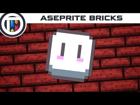 Aseprite Tutorial - How to Create a Brick Texture