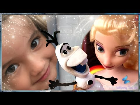 Whimsy unboxes her new Disney Elsa Classic Doll with Olaf figure!
