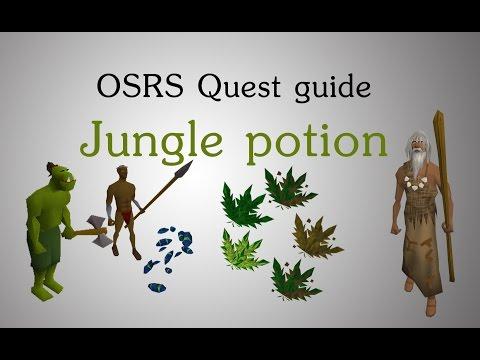 [OSRS] Jungle potion quest guide