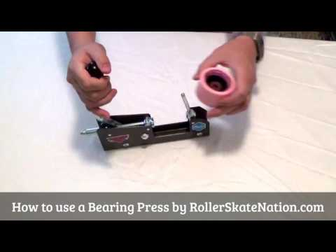 How to use a bearing press.