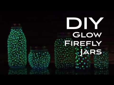 DIY Firefly Glow Jars
