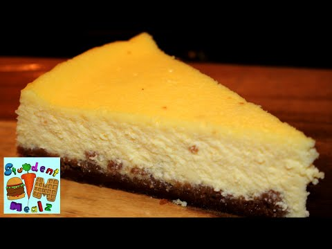 EASY CHEESECAKE RECIPE (SPECULOOS CRUST)
