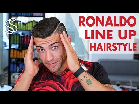 New Cristiano Ronaldo hair style 2015