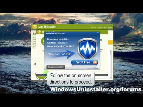 How to Uninstall Wise Care 365 Free on PC