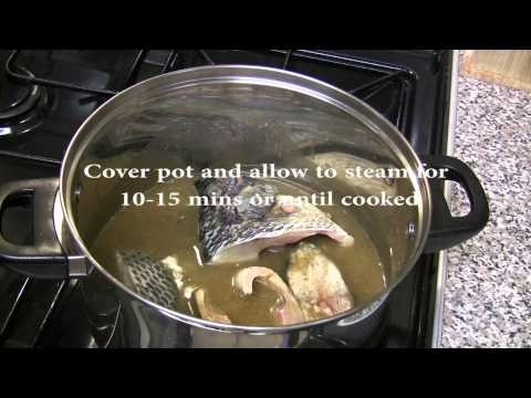 How to make Nigerian Fish Pepper Soup