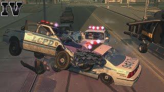 GTA IV - Crashes, Bailouts, Ragdolls & Fails Compilation #60 [1080p]